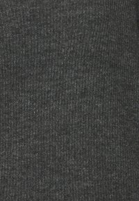 Vero Moda - VMCREWLEFILE V NECK  - Neule - medium grey melange - 2