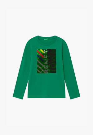 FUNZIONE BOY - Long sleeved top - green