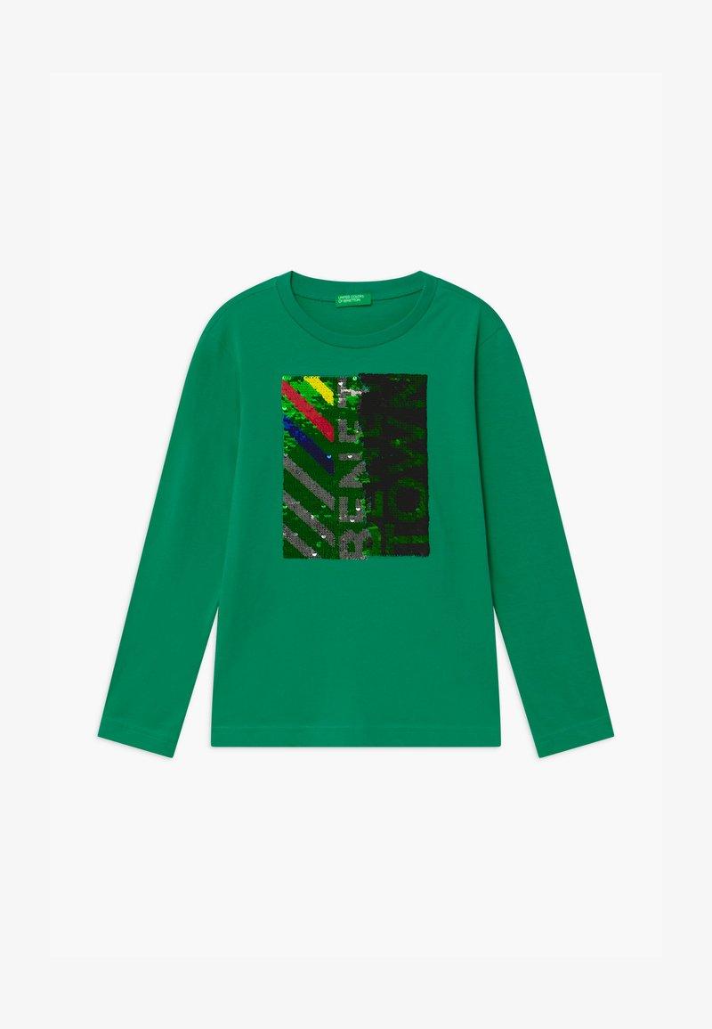 Benetton - FUNZIONE BOY - Top sdlouhým rukávem - green