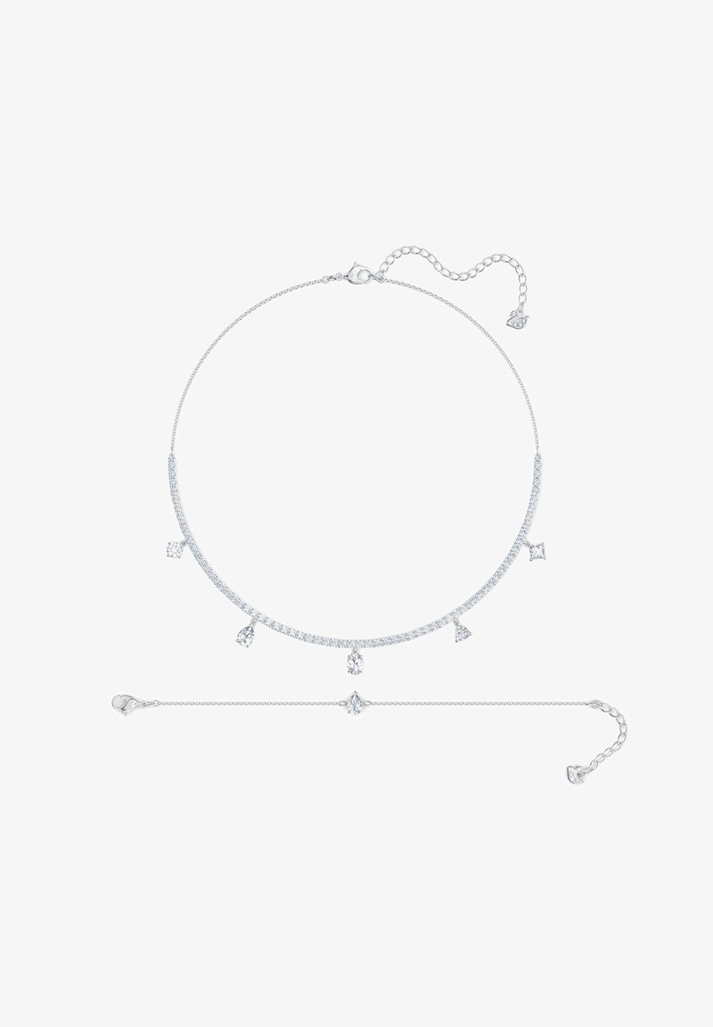 Swarovski - DELUXE MIXED SET - Necklace - white