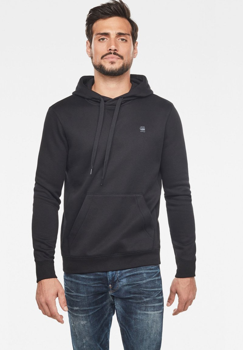 G-Star - PREMIUM CORE - Sweat à capuche - black