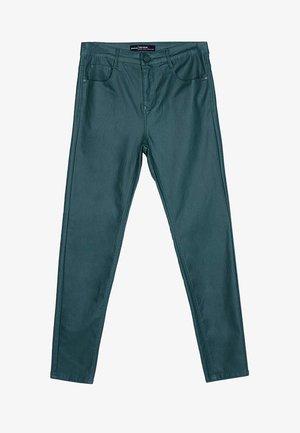 MIT HOHEM BUND - Trousers - grün