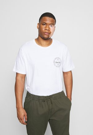 JORMOVESMALL TEE CREW NECK - Print T-shirt - white