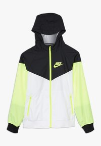 Nike Sportswear - Sportovní bunda - white/black/volt - 0