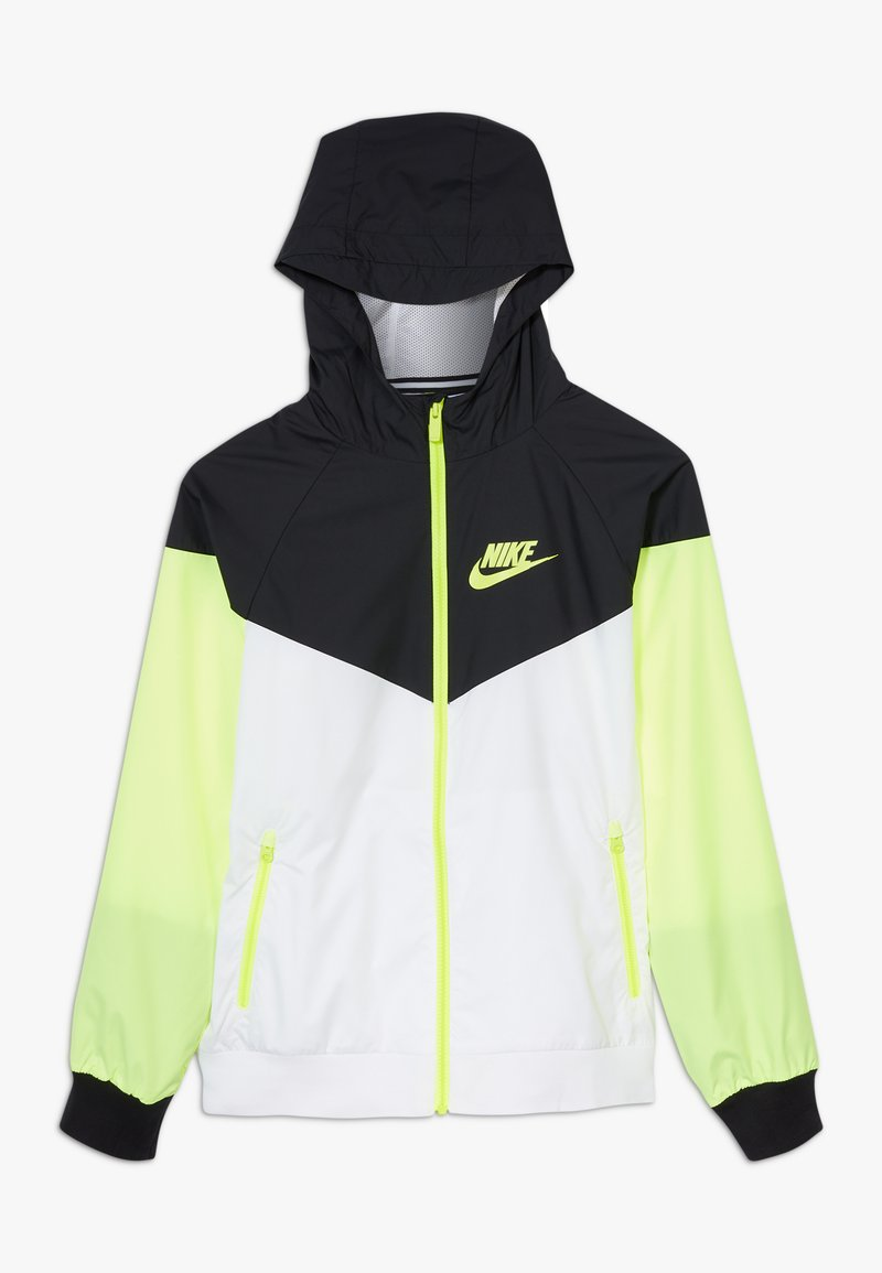Nike Sportswear - Sportovní bunda - white/black/volt