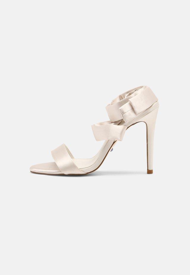 MIRELLE - High heeled sandals - ivory