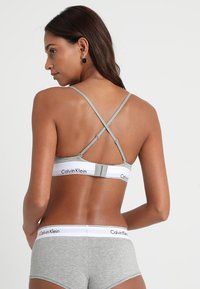 Calvin Klein Underwear - UNLINED - Triangle bra - grey heather - 3