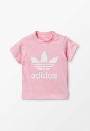 TREFOIL UNISEX - T-shirt print - pink/white