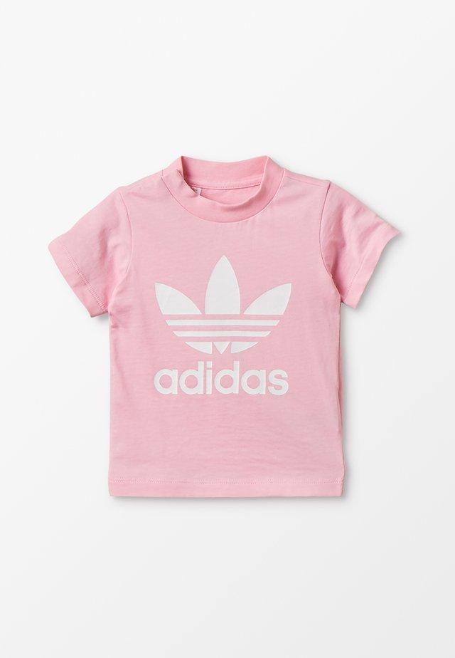 TREFOIL TEE - Print T-shirt - pink/white
