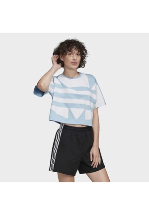 2020-02-15 LARGE LOGO T-SHIRT - Print T-shirt - blue