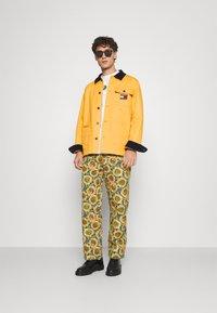 Tommy Jeans - BADGE WORKER JACKET - Summer jacket - gold - 1