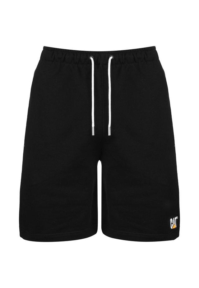 CAT LOGO SWEAT SHORT HERREN - Shorts - black