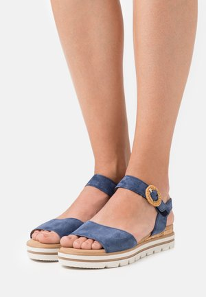 Platform sandals - jeans