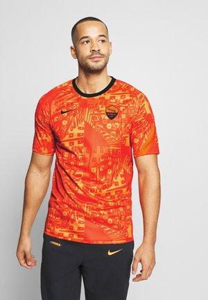 AS ROM DRY - Equipación de clubes - safety orange/black