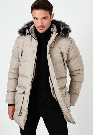 BURATTI  - Winter coat - stone colored