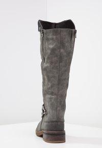Rieker - Winter boots - smoke/nero - 3