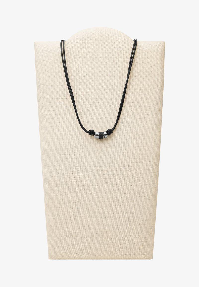 Fossil - Necklace - schwarz