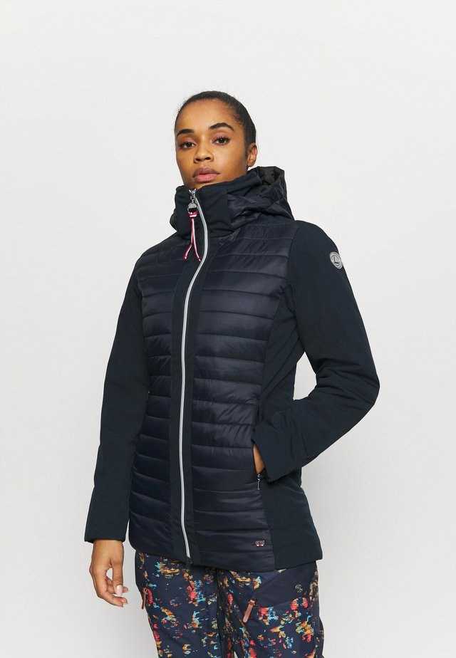EIJALA - Giacca softshell - dark blue
