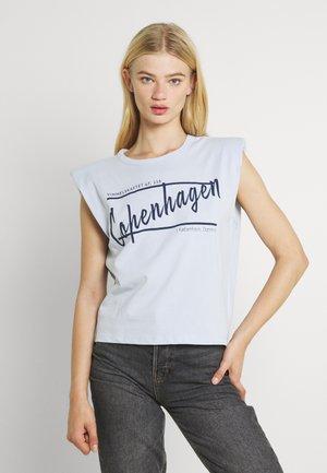 FRAN TANK - Print T-shirt - heather