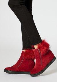 faina - Winter boots - bordeaux - 0