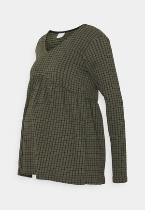 MLPERNILLE - Blouse - frosty green/black