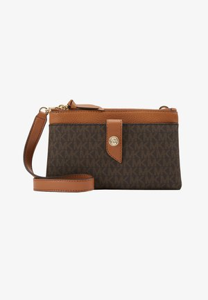 CHARM TAB XBODY - Clutch - brown/acorn
