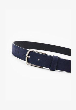 GÜRTEL AUS VELOURSLEDER - Belt - dark blue