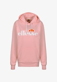 Ellesse - PICTON OH KAPUZENPULLOVER DAMEN - Hoodie - light pink - 0