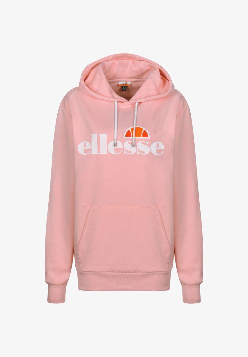 Ellesse - PICTON OH KAPUZENPULLOVER DAMEN - Hoodie - light pink