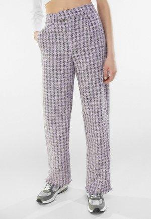 Trousers - mauve