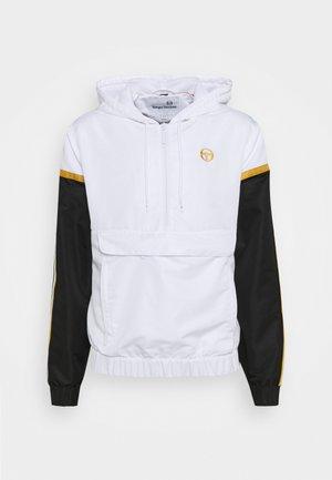 NION TRACKJACKET - Training jacket - white/gold