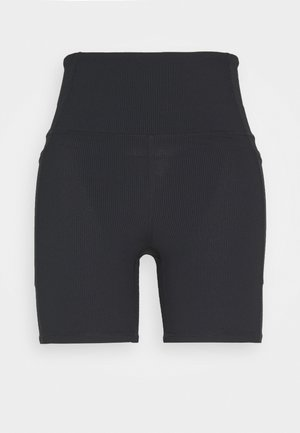 POCKET BIKE SHORT - Punčochy - black