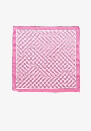 MIT SCHACHBRETTMUSTER LOVE 00332103 - Headscarf - pink