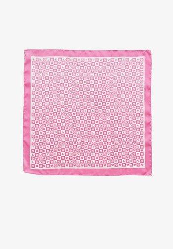 MIT SCHACHBRETTMUSTER LOVE 00332103 - Nakrycie głowy - pink
