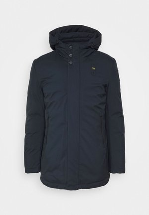 TRENCH LUNGHI - Down coat - dark navy
