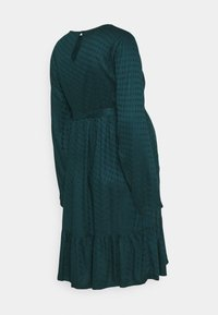 MAMALICIOUS - MLESSEY DRESS - Sukienka letnia - deep teal - 1