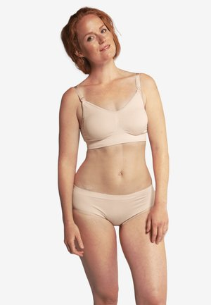 ORIGINAL MATERNITY & NURSING BRA  - Balconette bra - honey