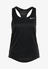 Nike Performance - MILER TANK RACER - Sports shirt - black - 4
