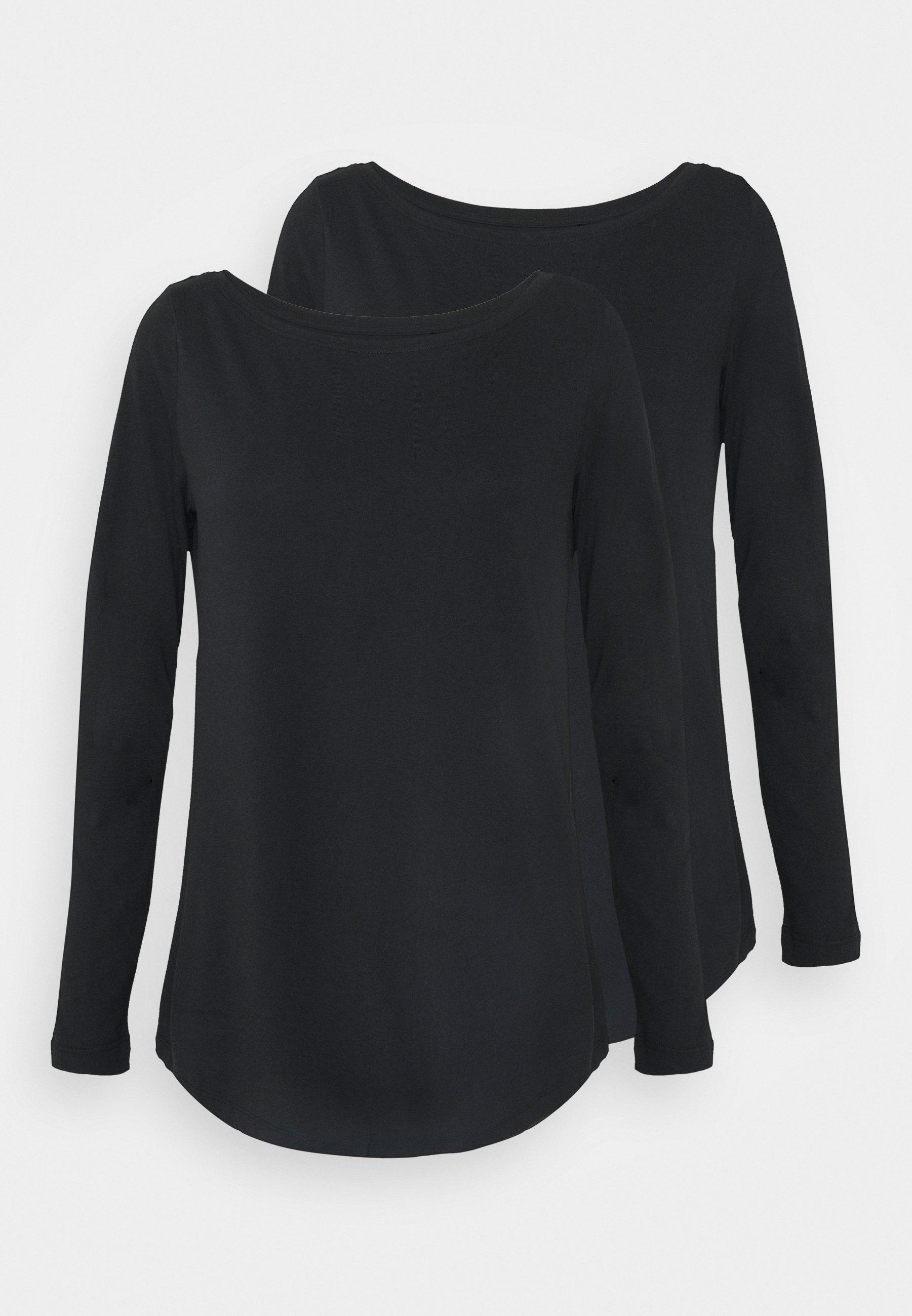 Women CREW NECK 2 PACK - Basic T-shirt
