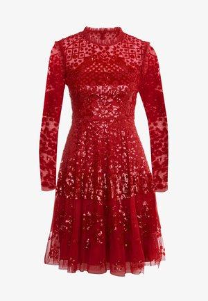 AURORA DRESS - Cocktailkjole - cherry red