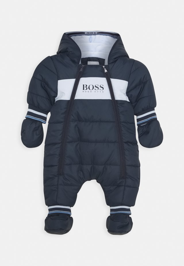 ALL IN ONE BABY - Tuta da neve - navy