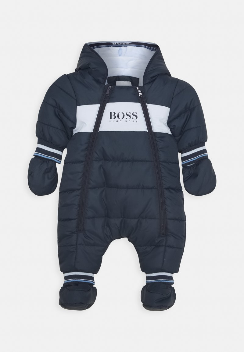 BOSS Kidswear - ALL IN ONE BABY - Mono para la nieve - navy