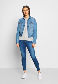 Lee - SCARLETT HIGH ZIP - Jeansy Skinny Fit - mid candy - 1