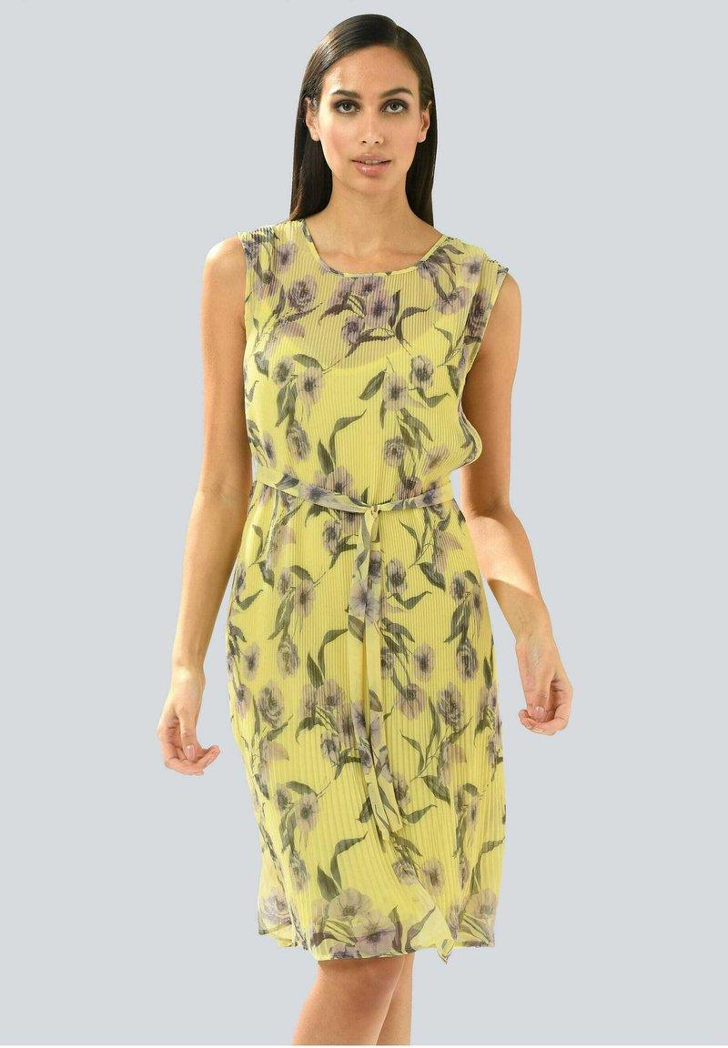 Alba Moda - Day dress - gelb,flieder
