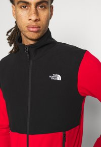 The North Face - GLACIER FULL ZIP JACKET  - Fleece jacket - red/black - 4