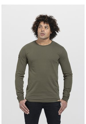 LIMITED TO 360 PIECES - Long sleeved top - army green