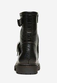 Selected Femme - Cowboy/biker ankle boot - black - 4
