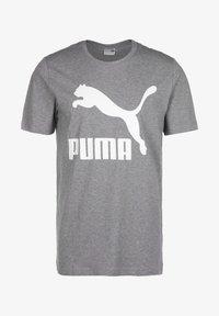 Puma - Print T-shirt - medium gray heather - 0