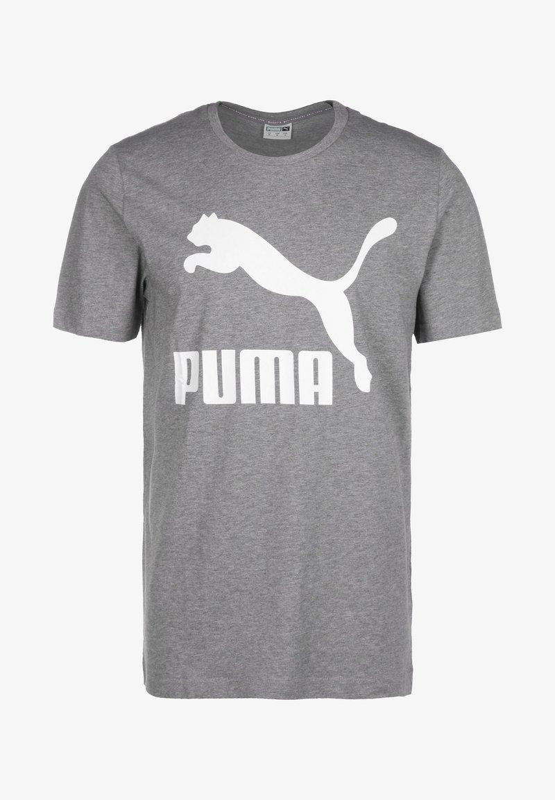 Puma - Print T-shirt - medium gray heather
