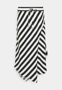 Lauren Ralph Lauren - HANIF SKIRT - A-line skirt - white/black - 0